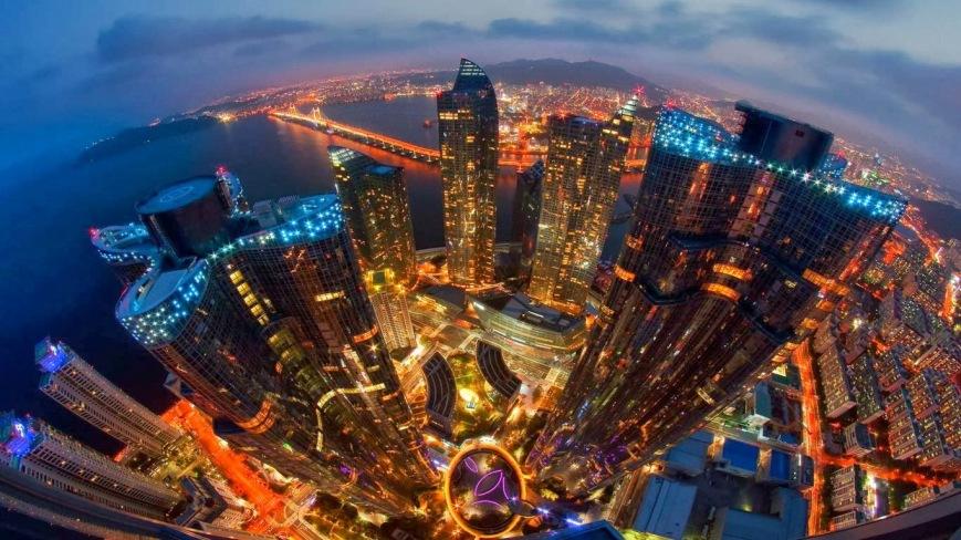 Marine City in the Haeundae district of Busan, South Korea 20130926